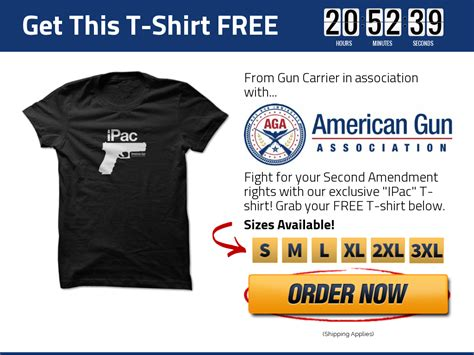 First Gun T-Shirt - Give It Away Free - Gun Carrier Shirt On Cb - Webs.