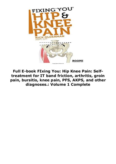 [click]fixing You Hip  Knee Pain Self-Treatment For It Band .