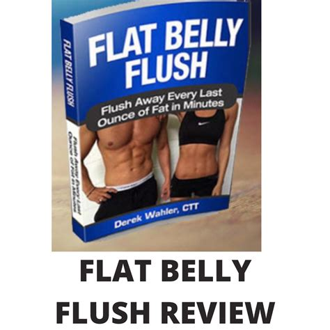 Flat Belly Flush Review - Red Water Melts Away A Pound Of Belly.