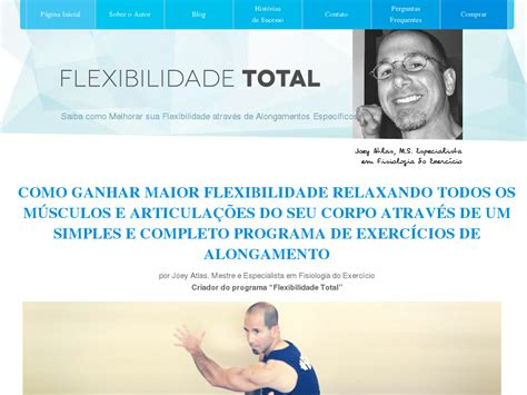 [click]flexibilidade Total New Joey Atlas Program In Portuguese .