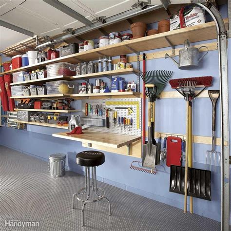 Flexible Garage Wall Storage Systems