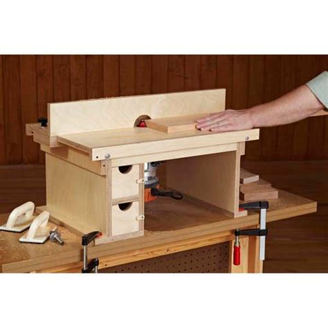 Flip Top Router Table