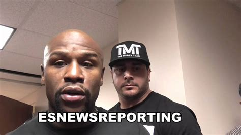 [click]floyd Mayweather There S A Blue Print How To Beat Adrien Broner Esnews Boxing.