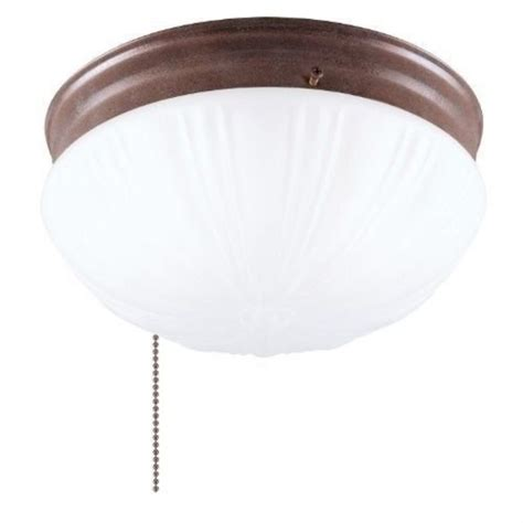 Flush Mount Ceiling Light With Pull Chain - Sears Com.