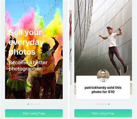 Foap App: Start Earning Money From Selling Your Iphone Photos.
