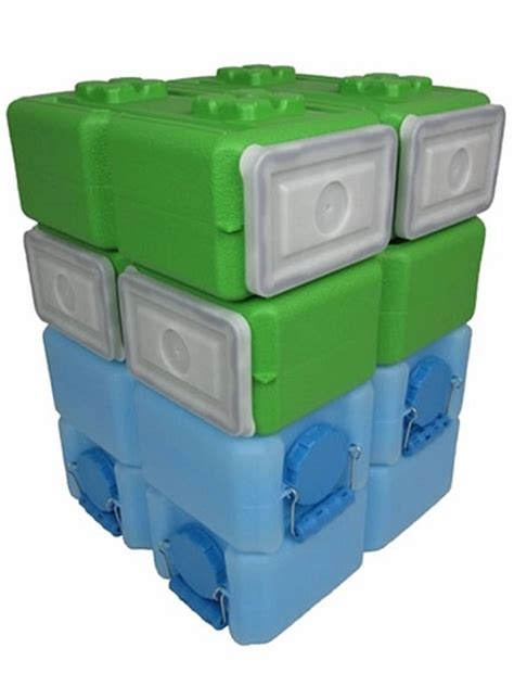 Foodbrick Waterbrick Combo 3 5 Gallon - 8 Pack.