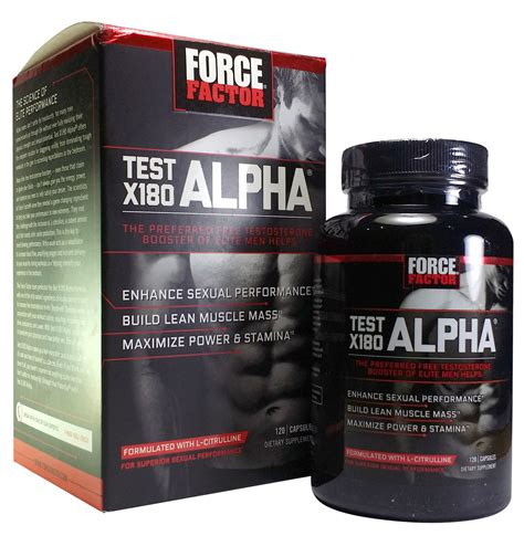 Force Factor® Test X180™ Gnc.
