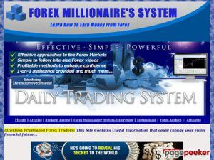 @ Forex Millionaire  S System-Dts  Reviews Weekly.