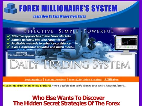 [click]forex Millionaires System-Dts - Video Dailymotion.