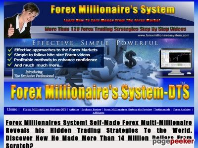 Forex Millionaires System-Dts..