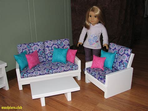 Free 18 Doll Furniture Plans