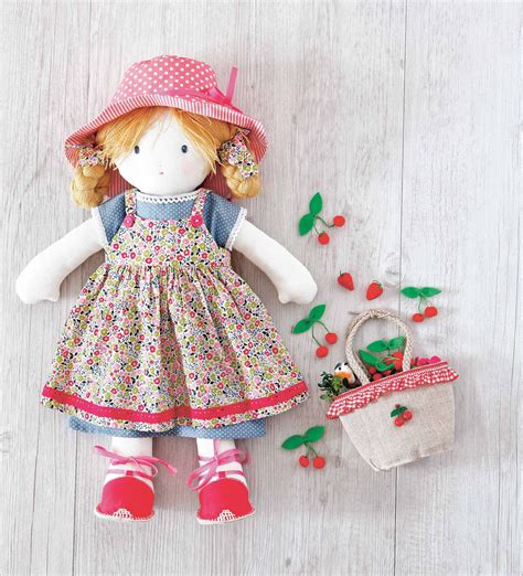 Free Cloth Doll Patterns To Sew