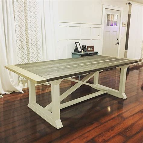 Free Country Dining Table Plans