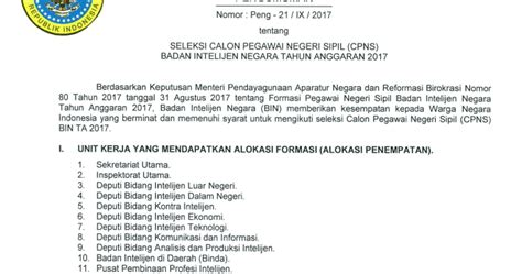 Free Download Soal Cpnsbadan Intelijen Nasional Bin 2017