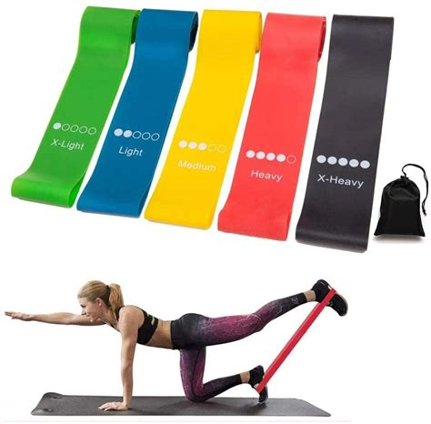 Free Exercise Resistance Loop Bands + Shipping Please The.
