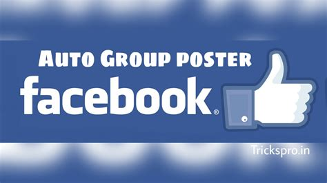 [click]free Facebook Autoposter - Post Free To Groups Pages .