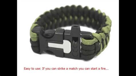 Free Firekable Paracord Bracelet Offer - Youtube.