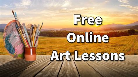 Free Online Drawing Lessons For Beginners Klinecreative.