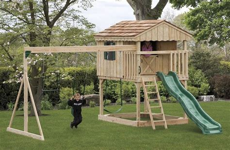 Free Outdoor Playset Plans