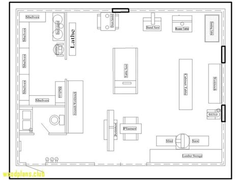 Free Plans For Woodworking Shops