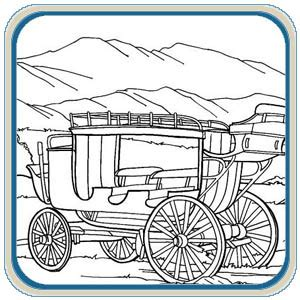 Free Pyrography Patterns Western Scenes