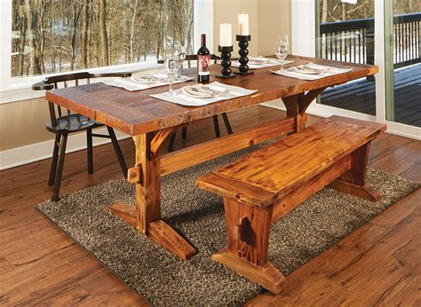 Free Rustic Dining Room Table Plans