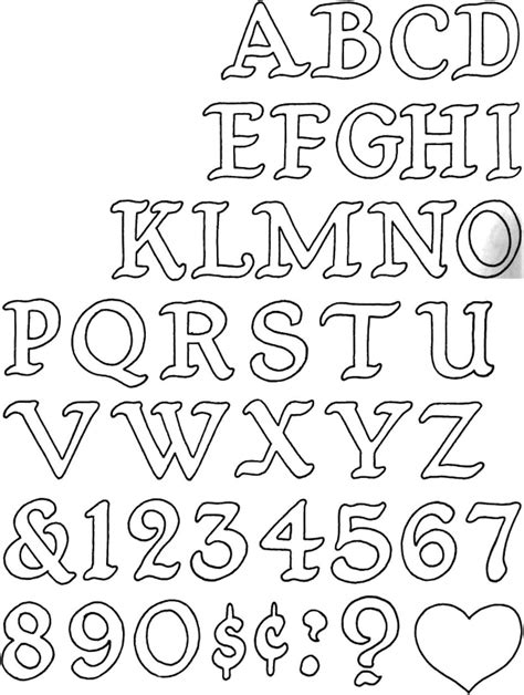 Free Scroll Saw Patterns Letters