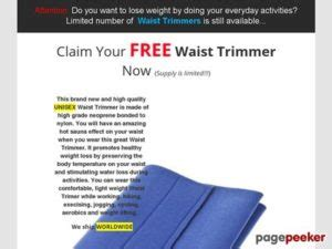 [click]free Waist Trimmer Optimized Funnel Huge Comissions .