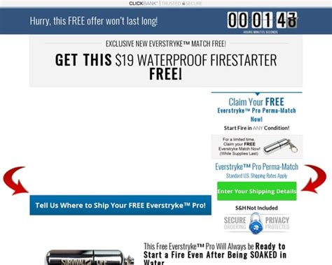 [click]free Waterproof Lighter Converts 13 66 Percent - Survival .