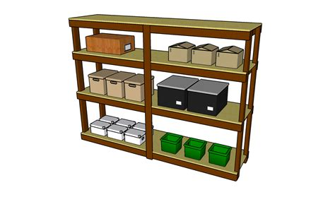 Free Wood Garage Shelf Plans
