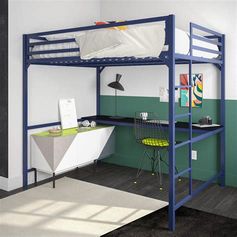 Full Bunk Bed With Desk