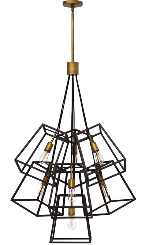 Fulton 8-Light Pendant By Hinkley Lighting.