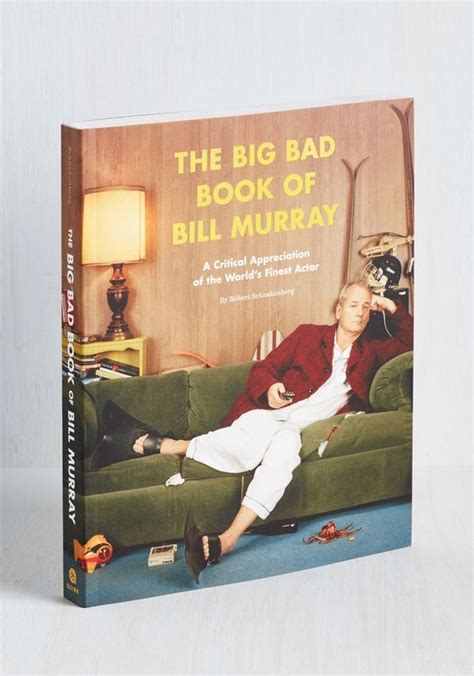 Funny Coffee Table Books Big Bad Bill Murray