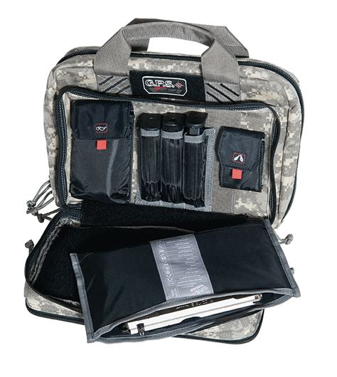 G P S Tactical Quad 2 Pisol Case.