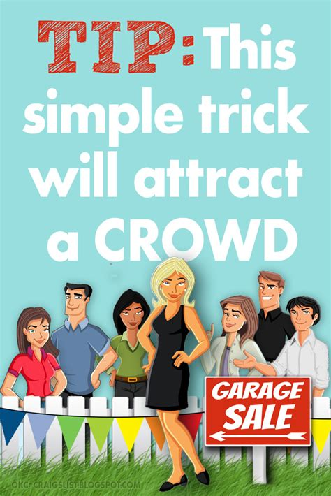 [click]garage Sale Tips  This Is How You Draw A Crowd .