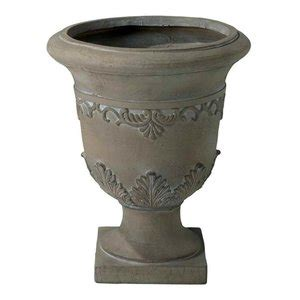 Gdfstudio Floriana Antique Green Stone Planter  - Bhg Com.