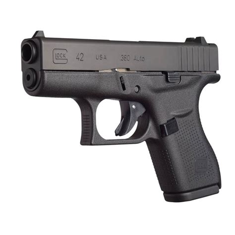Glock G42 3 25in 380 Auto Gas Nitride 6 1rd Brownells.