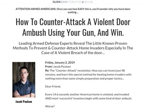 [click]graphs - Door Ambush - Armed Home Defense Dvd Program.