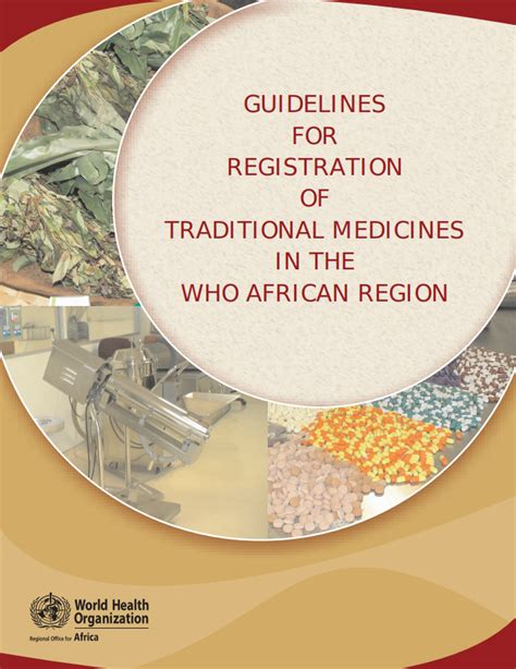 [pdf] Guidelines On Registration Of Traditional And Health .