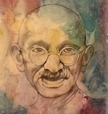 Gandhis 10 Rules For Changing The World, By Henrik Edberg.