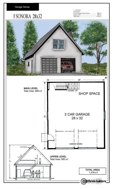 Garage Blueprints 30x30