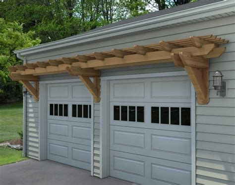 Garage Door Pergola Kits Cedar