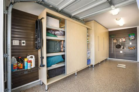 Garage Shelving Units With Doors
