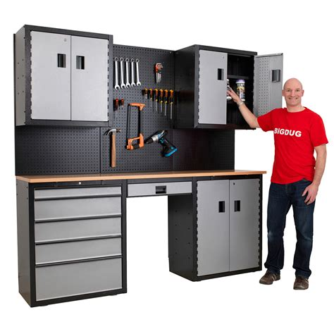 Garage Tool Storage And Workbenches
