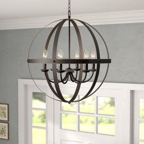 Genna 6-Light Globe Chandelier In 2019  Outdoor Spaces .