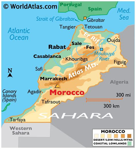 Geography of Morocco