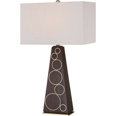 George Kovacs Portables Table Lamp In Walnut With Honey .