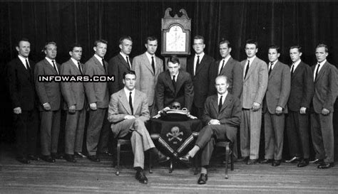 George W Bush John Kerry Test The Spirit Skull  Bones .