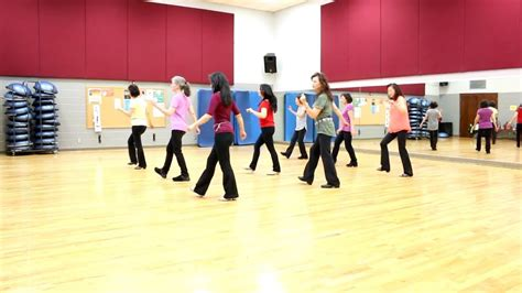 [click]get It Right - Line Dance Dance  Teach In English     .