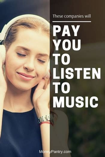 @ Get Paid To Listen To Music Great Conversions.